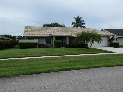 Wellington Single Family Home For Sale: 14114 Aster Avenue