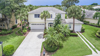 Jupiter Single Family Home For Sale: 17280 Shoals Drive