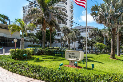 Highland Beach Condo For Sale: 3115 S Ocean Boulevard #903