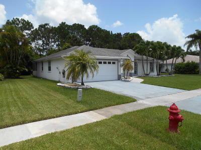 Royal Palm Beach Single Family Home For Sale: 166 Saratoga Boulevard W