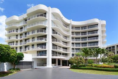 Palm Beach Condo For Sale: 3360 S Ocean Boulevard #1-H Il