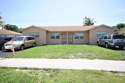 Boca Raton Multi Family Home For Sale: 2846 Dixie Highway