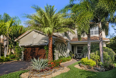 Palm Beach Gardens Single Family Home For Sale: 12427 Aviles Circle