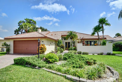 Boynton Beach Single Family Home For Sale: 53 Woods Lane