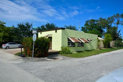 Lake Worth Single Family Home For Sale: 602 F Street