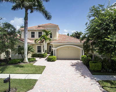 West Palm Beach Single Family Home For Sale: 7219 W Tradition Cove Lane W