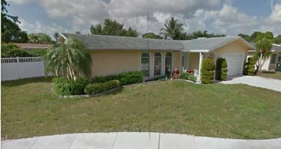Boca Raton FL Single Family Home For Sale: $388,900