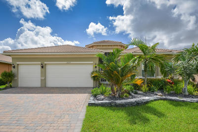 Boynton Beach Single Family Home For Sale: 12079 Glacier Bay Drive