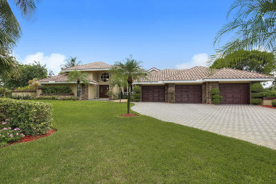 Delray Beach Single Family Home For Sale: 8538 Sawpine Road