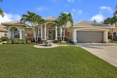Royal Palm Beach Single Family Home Contingent: 110 Fernwood Crescent
