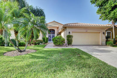 Boynton Beach Single Family Home For Sale: 6649 Arno Way