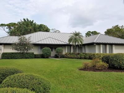 Palm City Single Family Home For Sale: 4581 SW Parkgate Boulevard