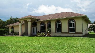 West Palm Beach Single Family Home For Sale: 13218 86th Road