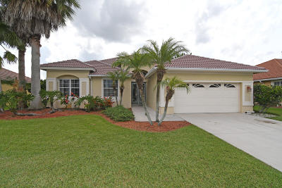 Port Saint Lucie Single Family Home Contingent: 410 SW Juniper Cove