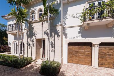 Palm Beach Single Family Home For Sale: 235 Atlantic Avenue