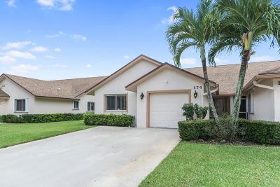 Royal Palm Beach Townhouse For Sale: 174 Par Drive