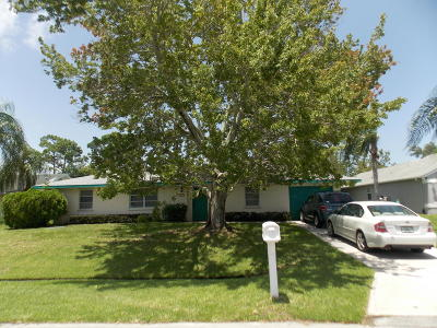 Port Saint Lucie Single Family Home For Sale: 799 SE Celtic Avenue