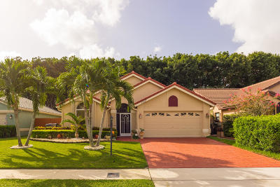 Wellington Single Family Home For Sale: 12617 White Coral Drive