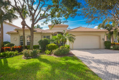 Delray Beach Single Family Home Contingent: 13449 Shell Beach Court