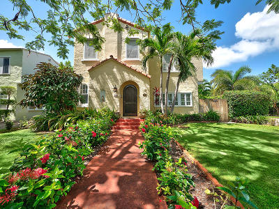 West Palm Beach Single Family Home For Sale: 501 26th Street