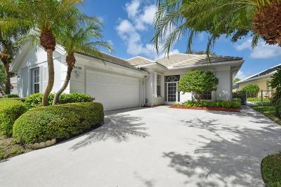 Palm Beach Gardens Single Family Home Contingent: 8439 E Garden Oaks Circle