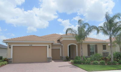 Port Saint Lucie Single Family Home For Sale: 10108 SW Cypress Wood Court SW
