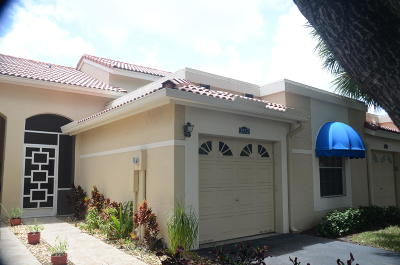 Deerfield Beach Single Family Home For Sale: 3532 Deer Creek Palladian Circle #5-42