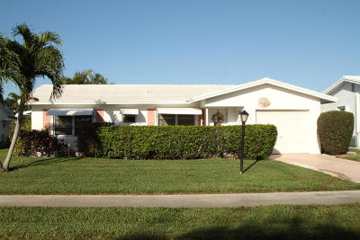 Boynton Beach Single Family Home For Sale: 1603 SW 18th Street