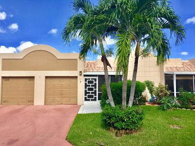 Boca Raton Single Family Home For Sale: 18940 Stewart Circle #7