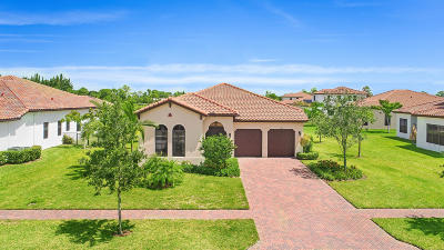 Lake Worth Single Family Home For Sale: 6295 Grebe Court