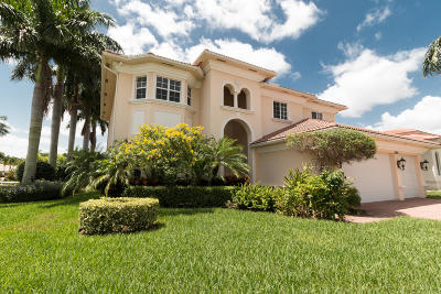 Boynton Beach Single Family Home For Sale: 6628 Cobia Circle
