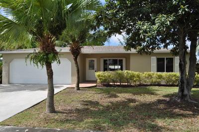 Boca Raton Single Family Home For Sale: 10865 Gable Street