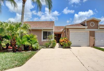 Boca Raton Single Family Home For Sale: 8071 Songbird Terrace