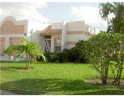 Boca Raton Single Family Home Contingent: 9200 Fairbanks Lane #1
