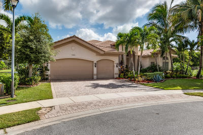 Boynton Beach Single Family Home For Sale: 10886 Canyon Bay Lane
