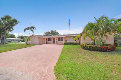 Palm Beach Gardens Single Family Home For Sale: 518 Iris Circle