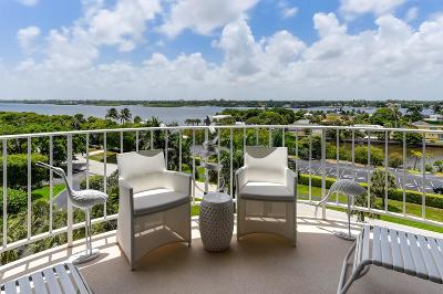 Palm Beach Condo For Sale: 2295 S Ocean Boulevard #715