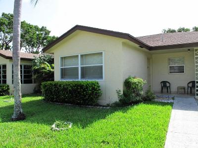 Delray Beach Single Family Home For Sale: 5220 Nesting Way #C