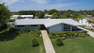 North Palm Beach Single Family Home For Sale: 537 Oyster Road