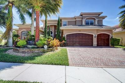 Boynton Beach Single Family Home For Sale: 8685 Baystone Cove