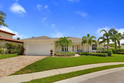 Tequesta Single Family Home For Sale: 515 Cypress Circle