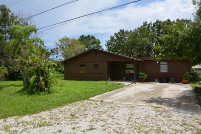 Jupiter Single Family Home For Sale: 7150 181st Street