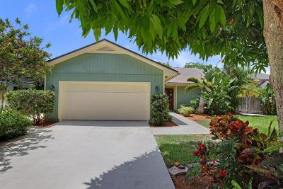 Jupiter Single Family Home For Sale: 211 Jupiter Woods Drive