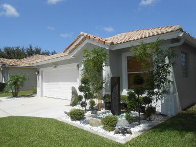 Boynton Beach Single Family Home For Sale: 1147 Rialto Drive