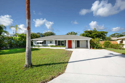 Jupiter Single Family Home For Sale: 12 Van Road