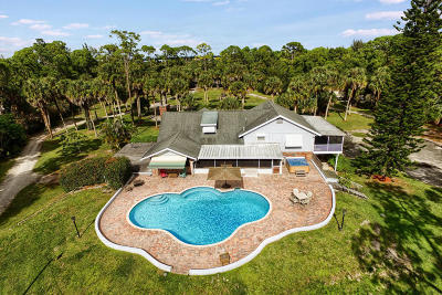 West Palm Beach Single Family Home For Sale: 7282 Wilson Road