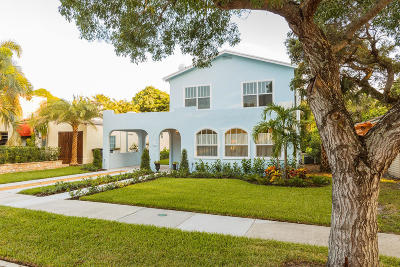 West Palm Beach Single Family Home For Sale: 738 Biscayne Drive