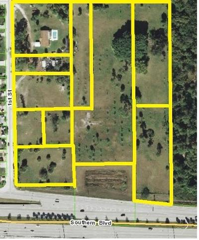 West Palm Beach Residential Lots & Land For Sale: 6179 Southern Boulevard
