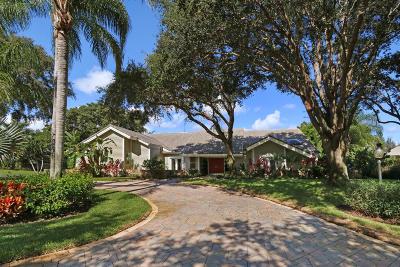 Tequesta Single Family Home For Sale: 18660 SE River Ridge Road