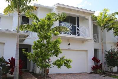 Palm Beach Gardens Townhouse For Sale: 2035 Chelsea Place